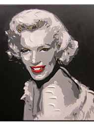 Hand Painted Oil Painting People Forever Marilyn 02