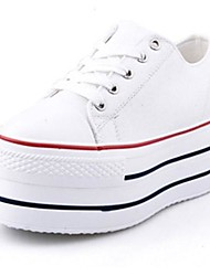 Canvas Women's Classic Platform Increasing Heel Fashion Sneaker