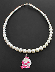 Lovely Santa Claus Pendant Necklaces for Pets Dogs