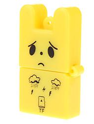 2.0 lector de tarjetas de memoria USB (amarillo / rojo)