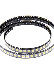 DIY 5050SMD 10 17LM 3000-3500K luz branca quente LED Chip (2.8-3.6V/100pcs)