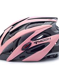 LUA Ciclismo preto e rosa PC / EPS 21 Vents Protective passeio Helmet