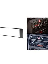 Radio Fascia Facia Trim installationssats för AUDI A3 8L 2000-2003 A6 4B 2000-2001 Leon 1999-2005 FIAT Scudo 2007 +