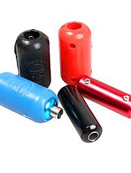 Silica Gel Tattoo Machine Gun Punho Capa & Aluminum Grip (cor aleatória)
