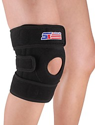 Sport Leg Knee Patella Support Brace Wrap Protector Pad Sleeve - Free Size