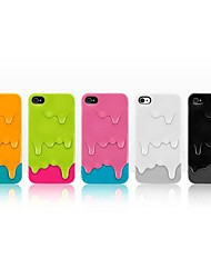 Ice Cream Pattern Back Case for iPhone 4/4S (Assorted Color)