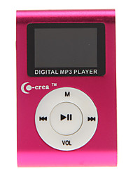 reproductor portátil de co-crea 1,2 pulgadas digital de mp3 con clip de metal (2 GB)