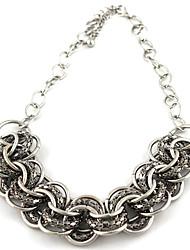 Elegante-Craft grazioso metallo link Twist della collana della catena