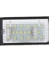 Free Error 18 3528 plaques d'immatriculation LED SMD ampoule de lampe pour BMW E46 323 325 330 M3 Coupé 2 portes