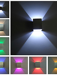 applique da parete led moderni colori chiari assortiti