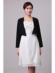 Wedding / Party/Evening Chiffon Coats/Jackets Long Sleeve Wedding  Wraps