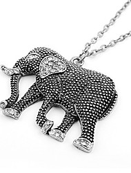 BBL женщин благоприятный слона модно элегантный ожерелье
