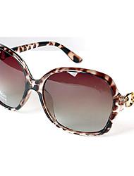 THISESON Women's Polarized Vintage Diamonade Graded Yurt Sunglasses(Screen Color)