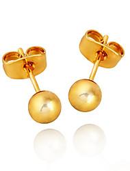 Minmin das Mulheres ouro 18k Brincos ERZ0146