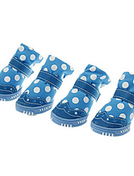 Fashionable Wave Point Pattern Soft  Shoes for Pets Dogs(Assorted Sizes)