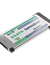 SATA-Festplatte HDD e-SATA Expresscard Adapter