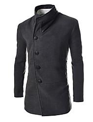 Men's Stand Collar Korea Style Coat