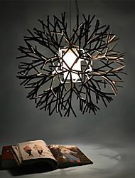 Coral-Design-Anhänger, ein Licht, Eisen Acrylmalerei
