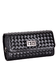 BDXX Women'S   Trendy Knitwear Wallet(Black)