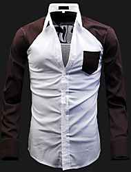 Men's Color Matching Shirt