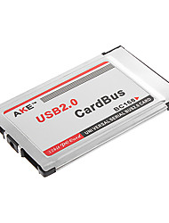 PCMCIA To USB 2.0 OHCI Ports CardBus 480M Inside Universal Serial Bus 2.0 Card