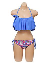 Mulheres Halter Strapless Sexy Bikini