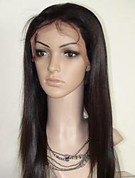 12 Inch Cabelo Liso 100% cabelo humano Lace Wig frontal