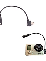 G-137  3.5mm Mic Adapter Cable for Gopro Hero3+ / Hero3 (15cm)