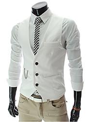 chalecos v corbatas de los hombres