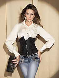 Jacquard devant Busk fermeture de corset shapewear