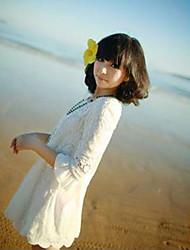 Damen Spring Flower Dress Spitze