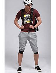 Moda Casual Cuerda Deporte Pantalones cortos para hombres Pantalones Jogging