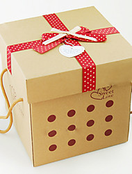 Classic Eco-friendly Bowknot Folding Storage Box
