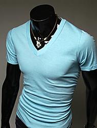 DD Wear V collar short sleeve T-shirt