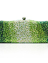Beautiful Elegant Rhinestone Beaded Clutch Bag for Wedding