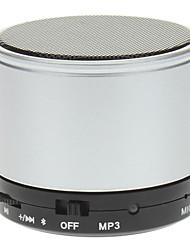 Mini Altavoz Bluetooth con micrófono, tarjeta del TF Compatible (Plata)