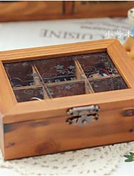 6 Проверить Деревянный ящик