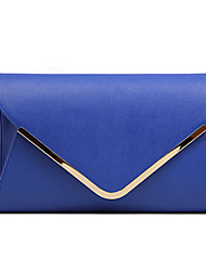 XUNDI Lady's Fashionable Leather Bag(Blue)
