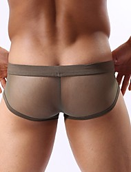 Homme Couleur Pleine Shorts & Slips GarçonNylon / Spandex