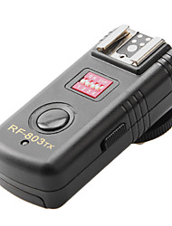 RF-803 Wireless Camera Speedlite Trigger (noir)