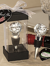 Amasra Crystal Ball Design Wine Stoppers