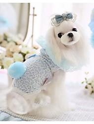 Hoodies animal familier d'été de lacet pour Animaux Chiens (Assortiment de couleurs, tailles)