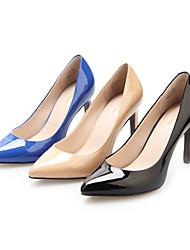 Кожаные женские стилет каблук каблуки Насосы / каблуки обуви (больше цвета)