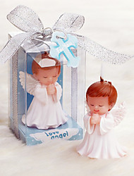 Male Angel Candle