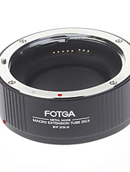 FOTGA High Precision Macro Extension Tube DGII Ef 25 II for Canon Cameras (Black)