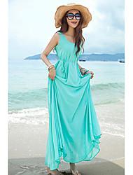 Women's Dresses , Chiffon Casual Adalyn