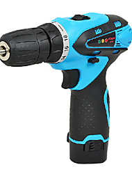 12V Multifunctional Household Electric Drill With Paper Package(2 Battery And 1 Charger)