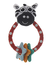 Lovely Zebra Doll Ring Toy with Stars for Pets Dogs