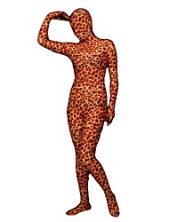Sauvage Tacheté léopard Unisexe Lycra Zentai