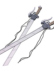 Attack on Titan Mikasa Ackermann Double Cosplay Sword
